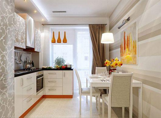 Угловые кухонные гарнитуры для маленькой кухни