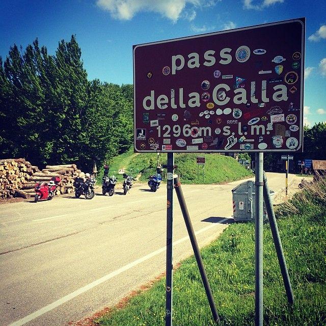 On the top of Passo Della Calla. 1296m above
