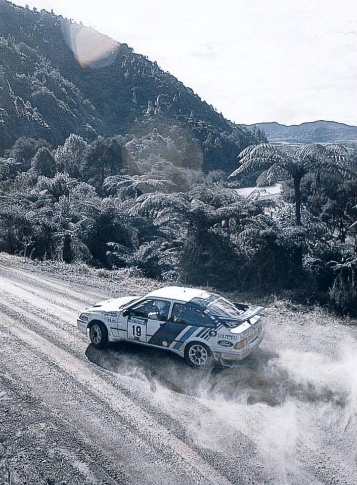 Colin McRae - Ford Sierra Cosworth - Rally - Gravel