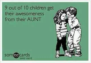 so true!  #best aunt ever! @Kayla Walsh  & @Hannah Walsh