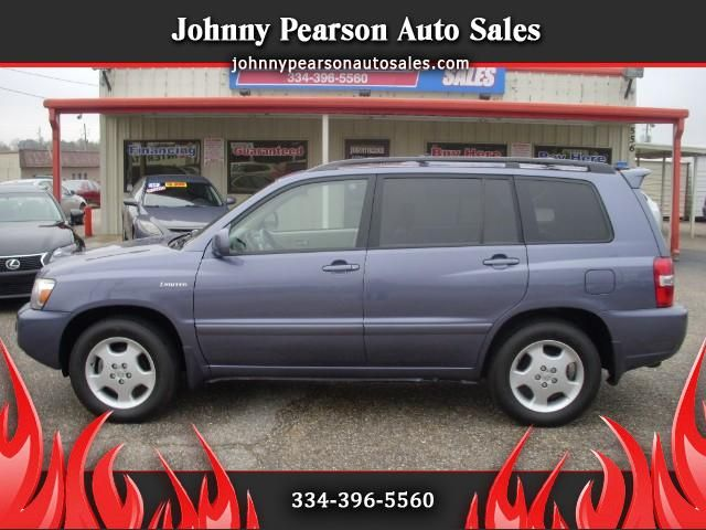 Used 2005 Toyota Highlander V6 2WD with 3rd-Row Seat for Sale in Montgomery AL 36117 Johnny Pearson Auto Sales