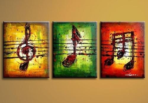music note art - I could make something like this.