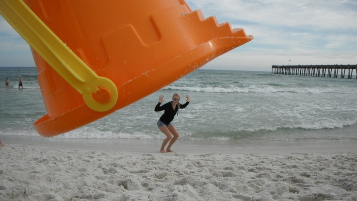 Funny beach pictures since i, ella, am the photographer