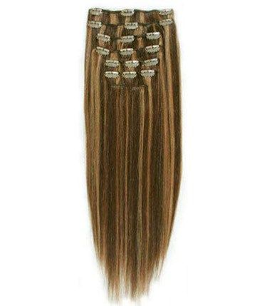 The 25 best 20 inch hair extensions ideas on pinterest black hairextensionsaleclip in remy human hair extensions 20 inch brownblonde4 pmusecretfo Image collections
