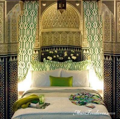 Decoration marocaine chambre for Decoration chambre de nuit marocain