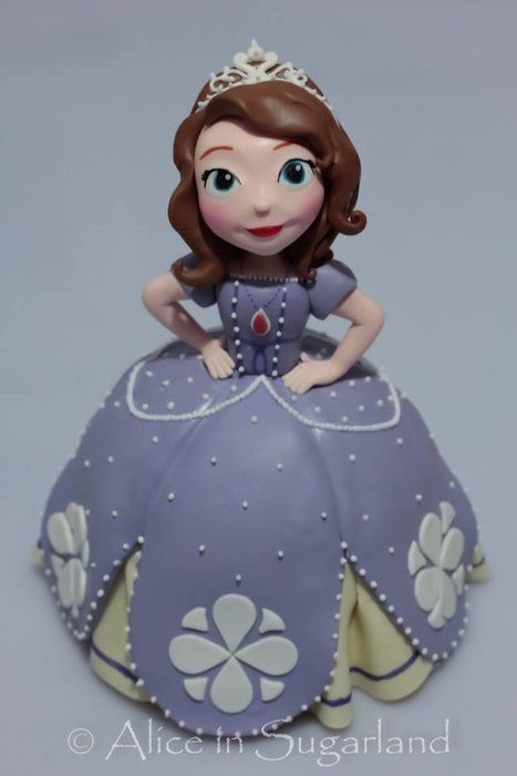 Www Designer Birthday Cakes Disney Sofia The St