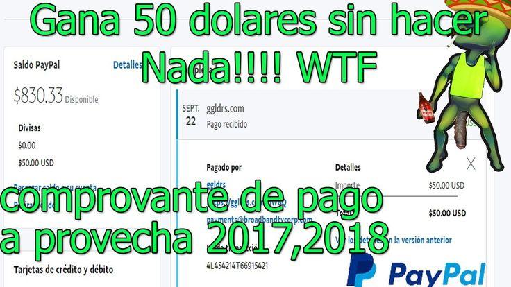 Como Ganar Dinero Para Paypal hasta 50 dolares sin hacer nada!! aprovech...