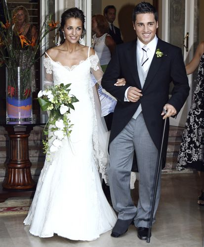 @siempreelegante Inspirate en las celebrities para elegir vestido de novia PAULA ECHEVARRIA y DAVID BUSTAMANTE