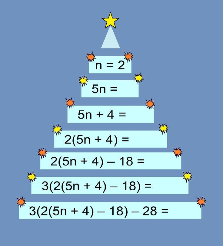 MEDIAN Don Steward secondary maths teaching: substitution
