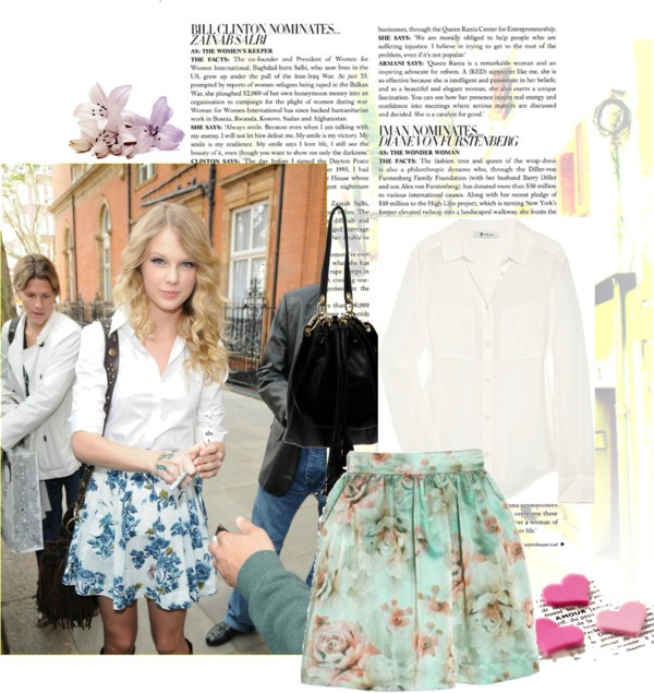 """""""Taylor Swift Casual Chic"""" by vanessadu on Polyvore"""
