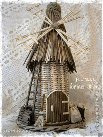 Интерьер Плетение Плетёнки в новом 2015году Трубочки бумажные фото 10