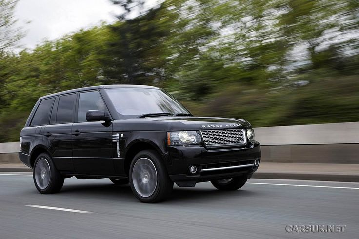 2012 Land Rover Range Rover (L322) Autobiography Black Supercharged EWB