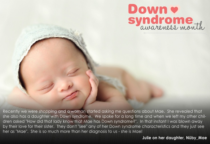 Mae; Peace, Love & Down Syndrome @Evelyn Spencer Down Syndrome Society