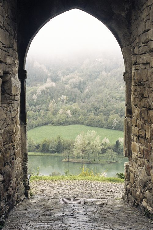 Arch to the forest | Italy (by Stefano Marchionini)