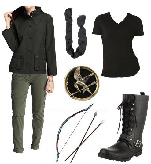 katniss everdeen halloween costume idea - Primrose Everdeen Halloween Costume