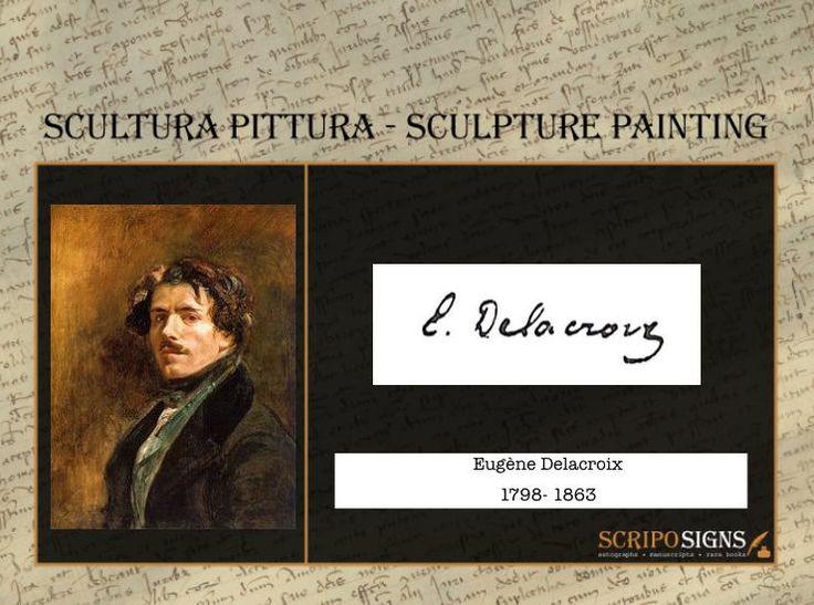 Eugène Delacroix - #scripomarket #scriposigns #scripofilia #scripophily #finanza #finance #collezionismo #collectibles #arte #art #scripoart #scripoarte #borsa #stock #azioni #bonds #obbligazioni