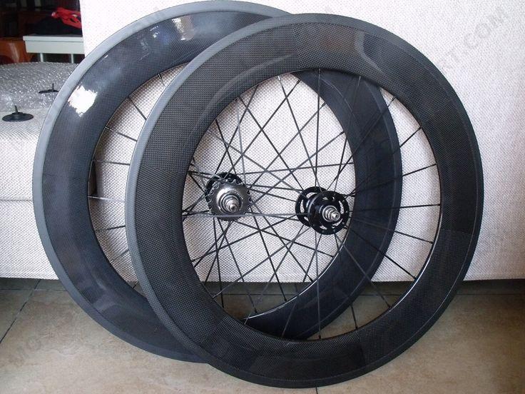88mm rear carbon wheelset for fixed gear/single speed Novatec fixed hub,Pillar aero spoke