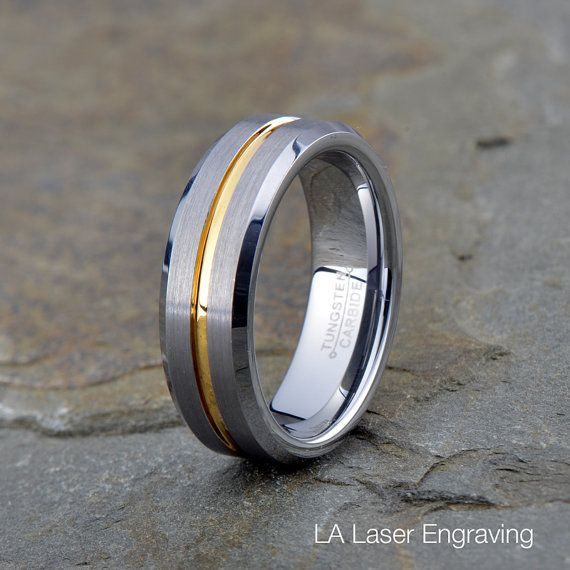 Hey, I found this really awesome Etsy listing at https://www.etsy.com/listing/238757024/brushed-tungsten-ring-mens-womens