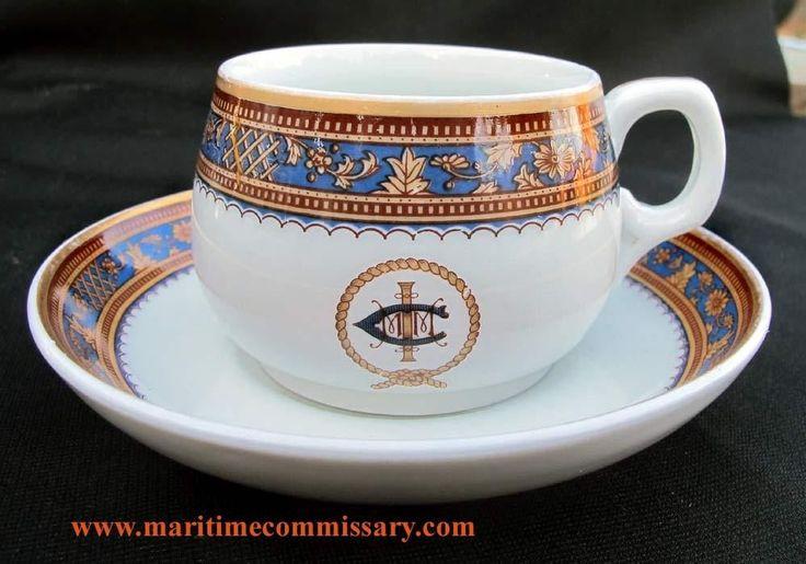 International Mercantile Marine / IMMC  Panama Pacific cup & saucer set…