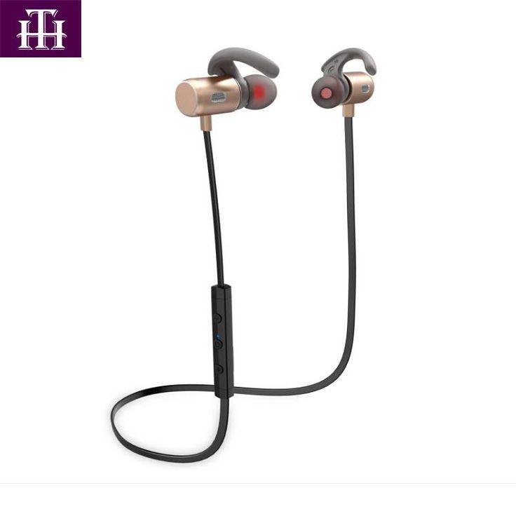 Hutmtech IE3 Noise Cancelling Headsets Wireless Bluetooth Earphone CSR 4.2 Stereo Earphone IPX5 Sweatproof Sports Earbuds