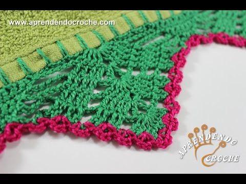 Suas toalhas de banho cheias de graça com este delicado barrado de crochê! Faça os seus! Se gostou do vídeo, clique em gostei e compartilhe em suas redes soc...