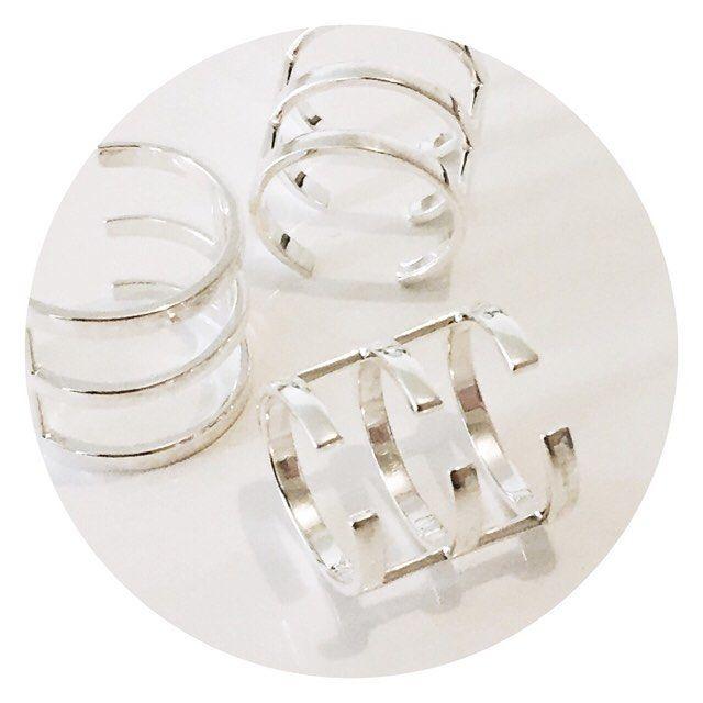 • CAPTIVITY RINGS • SILVER • www.accessoriesbyg.com  #accessoriesbyg #silver #jewelery #accessories #shop #minimal #rings