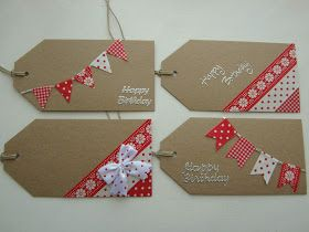 washi tape ideas homemade gift tags