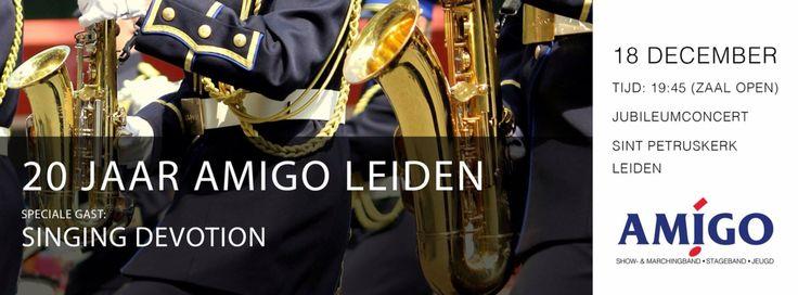 Kom vanavond ook naar ons gezellige jubileumconcert   19.45 Petruskerk leiden  #jubileum #korpsmuziek #concert