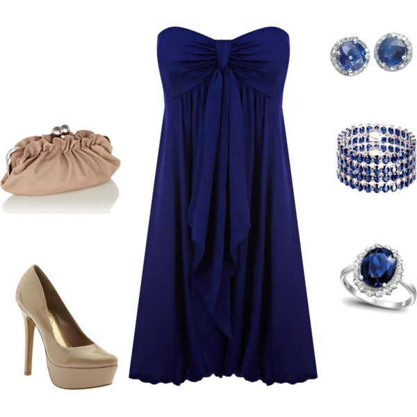 Outfit: Date Night, Dreams Closet, Style, Blue Dresses, Color, Royals Blue, Night Outfits, The Dresses, Blue Night