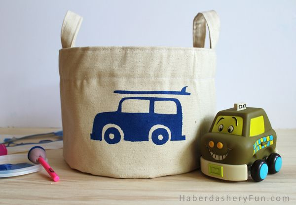 De-clutter Your Home with these Cute Cloth Storage Bin DIYs 6 - https://www.facebook.com/diplyofficial