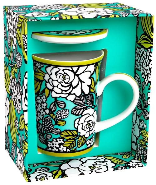 Vera Bradley Island Blooms Mug omg. This would be perfect for vacation