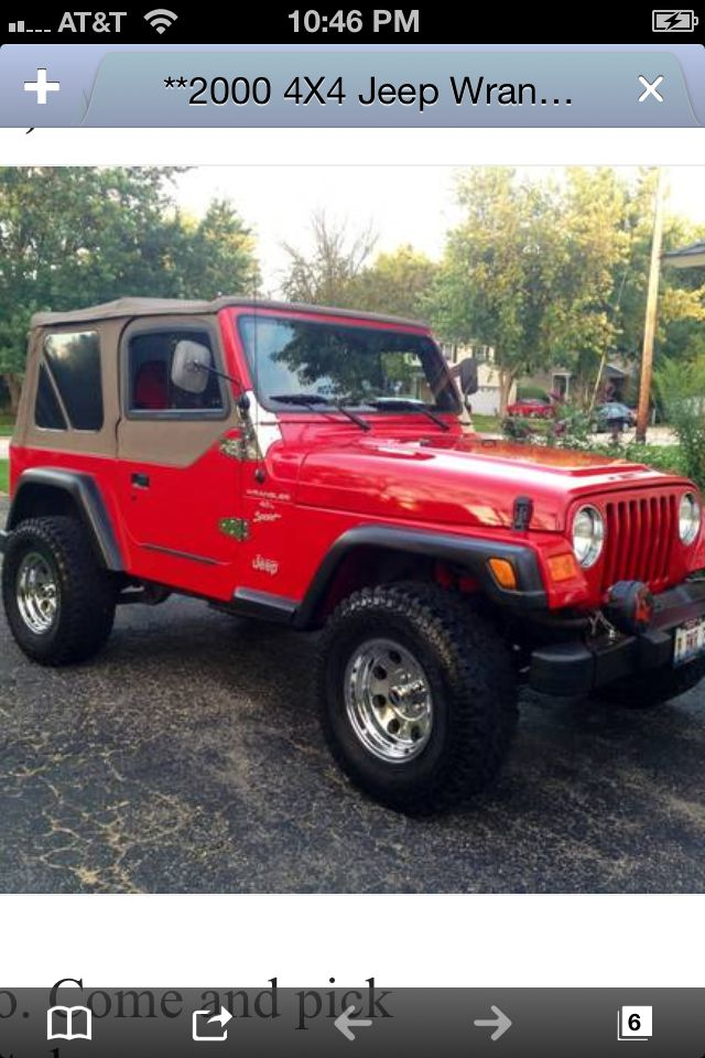 """Jeep Jk Lift >> My ride... 2000 Jeep Wrangler TJ 4.0 6 Cyl 2"""" lift with 31 ..."""