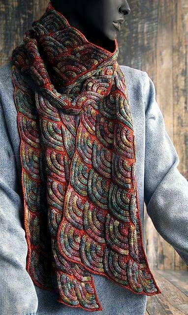 Magnifique écharpe