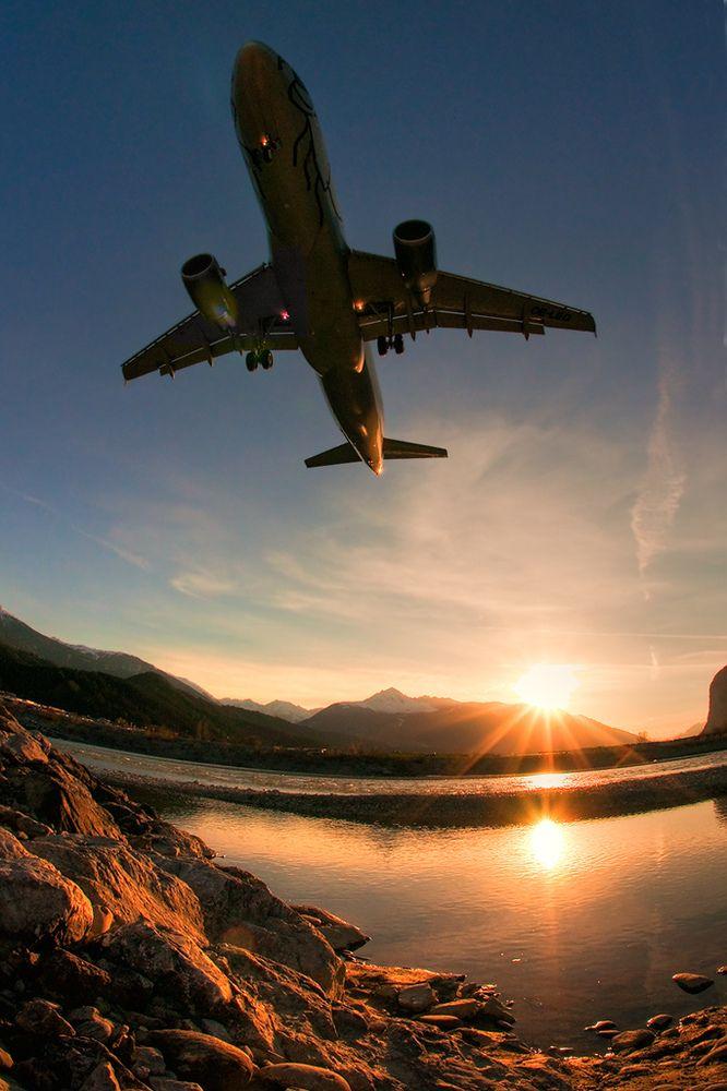 Niki Airbus 320 OE-LEG LOWI Innsbruck – Nathalie de Wolf
