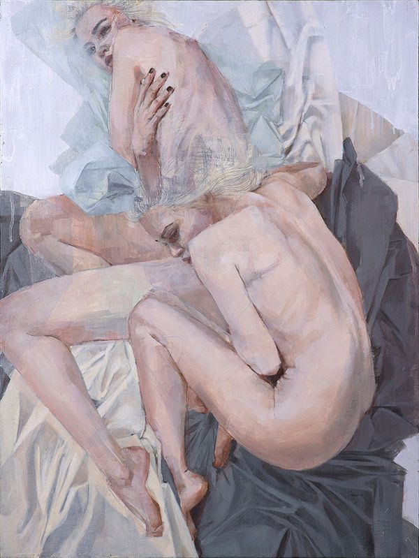 Paintings by Los Angeles-based artist Christine Wu. More images below.             Christine Wu's Website