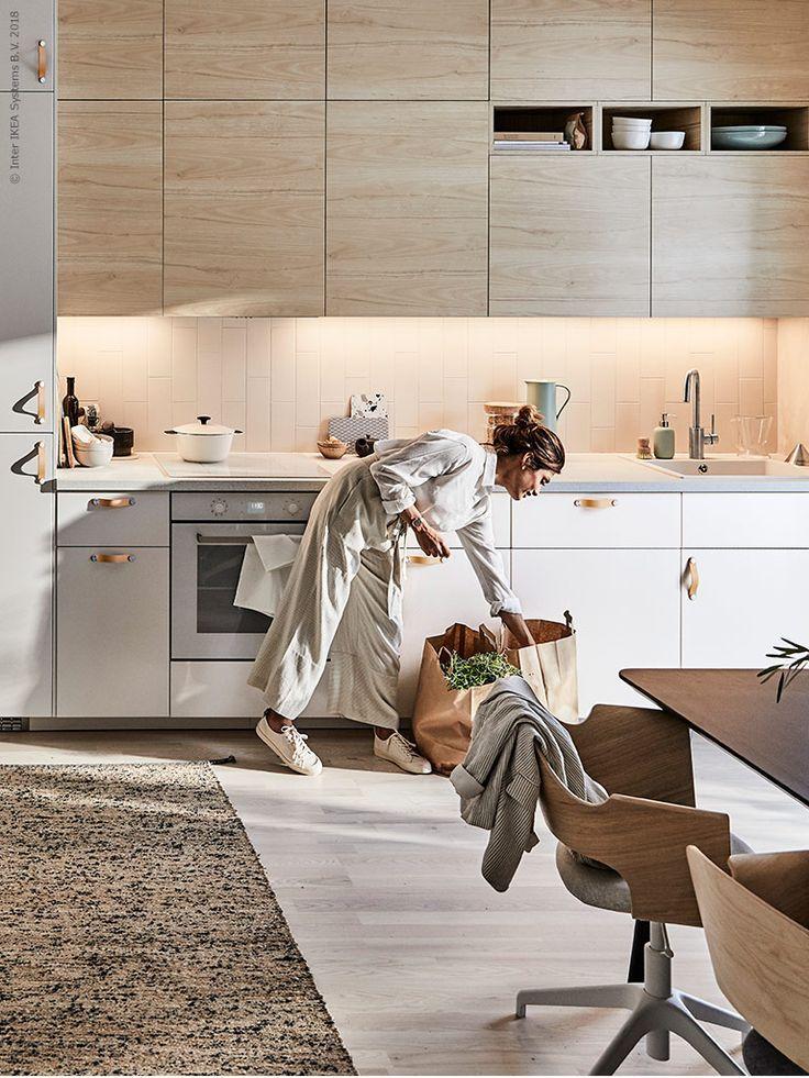 Armarios Askersund Y Armarios Veddinge Gabinete Tutemo Kuchen Design Kuchenumgestaltung Haus Kuchen