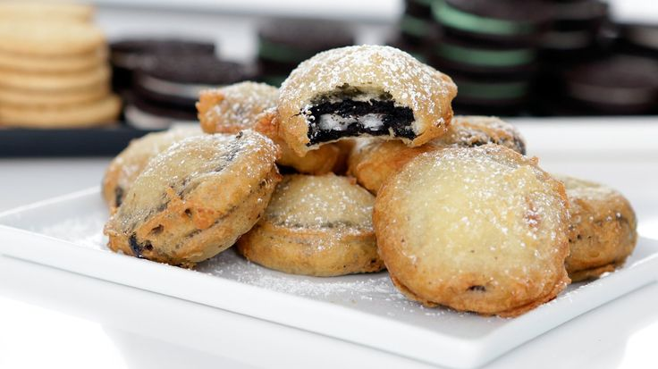 "OMG, We're Making Deep-Fried Oreos!: As soon as we hear the words ""deep-fried Oreos,"" our mouths start to salivate."