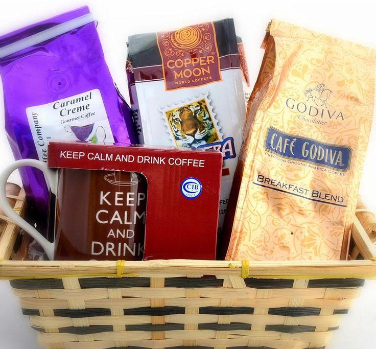 Coffee Lovers Gourmet Gift Basket