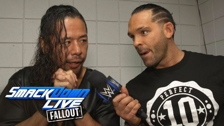 "Tye Dillinger celebrates ""Perfect 10 Day"" with the locker room: SmackDown LIVE Fallout, Oct 10, 2017  