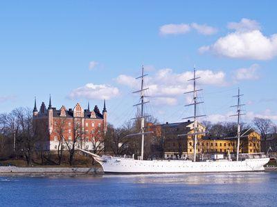 Af Chapman, hostel in Stockholm