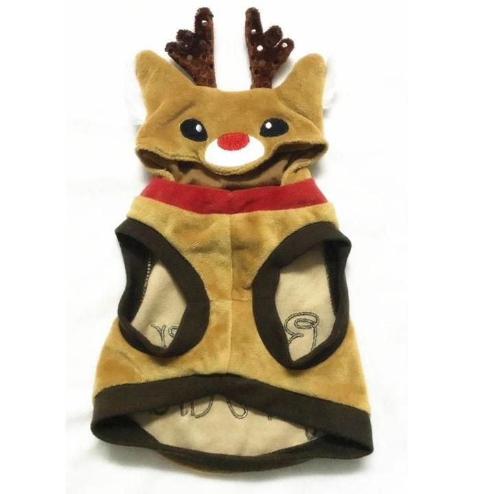 Comfy Reindeer For Hire Coat Costume For Your Cats And Dogs Cute