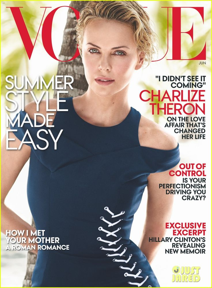 Charlize Theron Opens Up About Dating Sean Penn for 'Vogue'   charlize theron vogue june 2014 03 - Photo