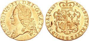 Гинея времён правления короля Георга Второго (George II)