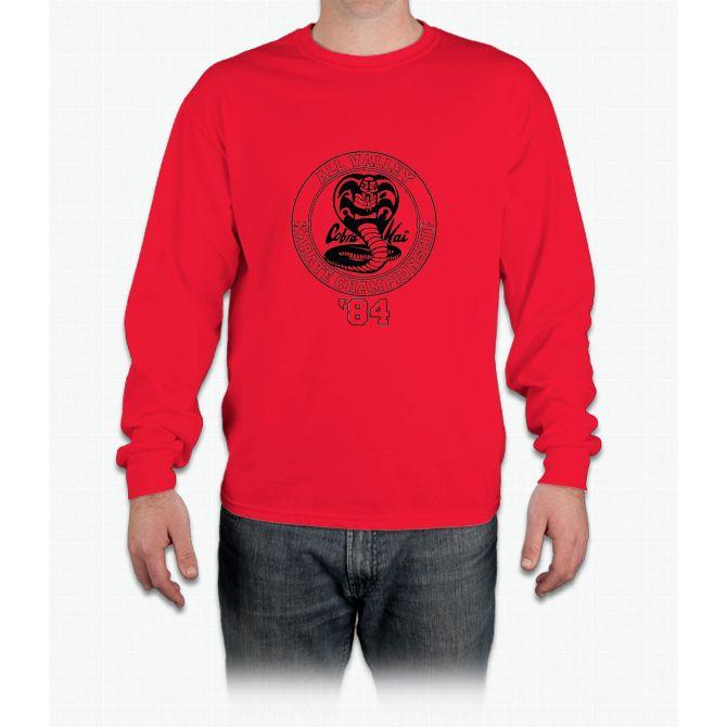 Cobra Kai All Valley Karate Tournament Long Sleeve T-Shirt