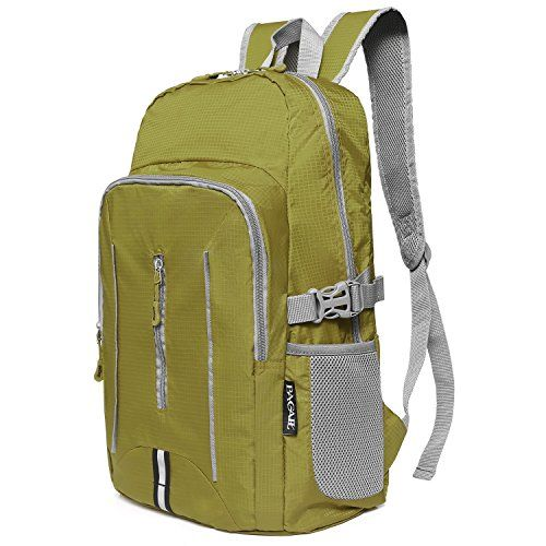 5f5d75077b Bagail Lightweight Packable Durable Travel Hiking Backpack Daypack Green      More info could be found at the image url. (This is an affiliate link)…