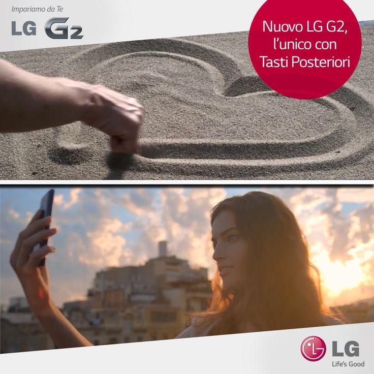 Usa il tuo indice per qualsiasi cosa...anche per immortalare i tuoi ricordi con #LGG2! #smartphone #photography #love