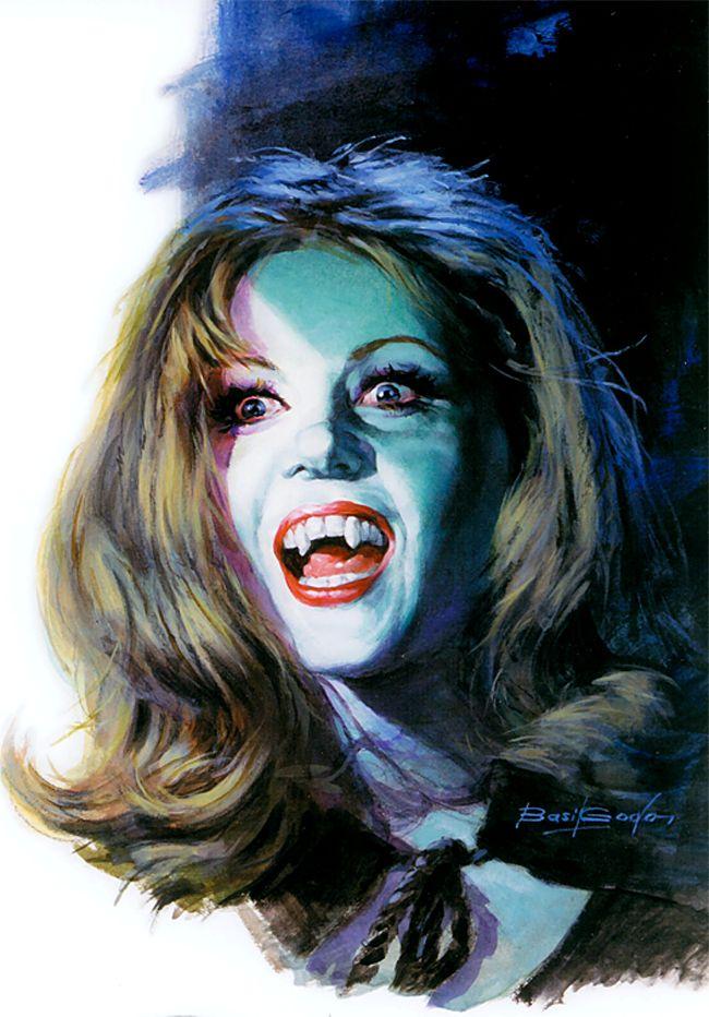 Basil Gogos - Ingrid Pitt The Vampire Lovers