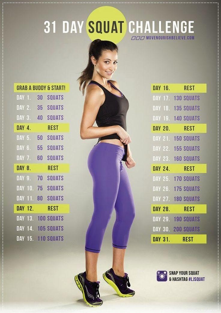 [Forme] Mon bilan du 30 days squat challenge de Lorna Jane ♡