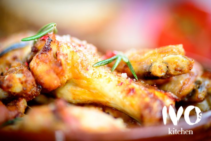 Meat - Organic chickenwings marinated in Ivo's marinade #ivoskitchen #restaurant #food #chickenwings #chicken #meat #amsterdam #organic