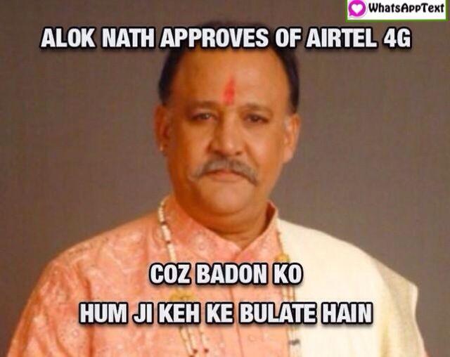 Airtel 4G Internet funny Meme and Trolls with aloknath